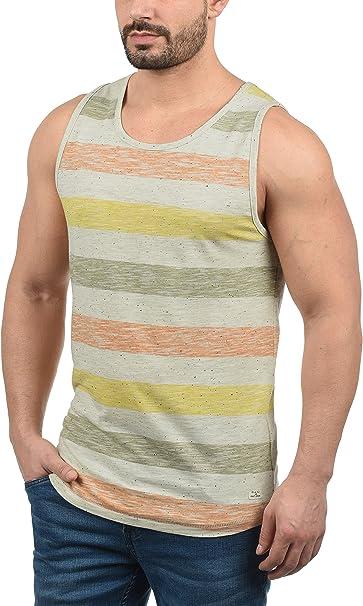 BLEND Afkinas - Camiseta sin Mangas Hombre: Amazon.es: Ropa y accesorios