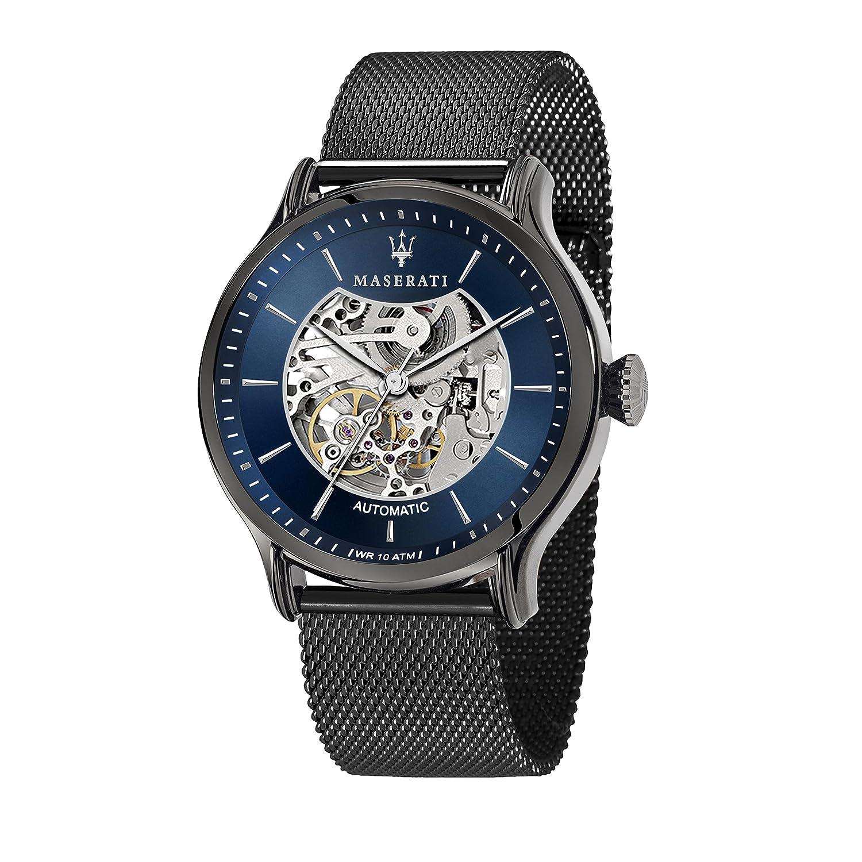 MASERATI Reloj Analógico para Hombre de Automático con Correa en Acero Inoxidable R8823118002
