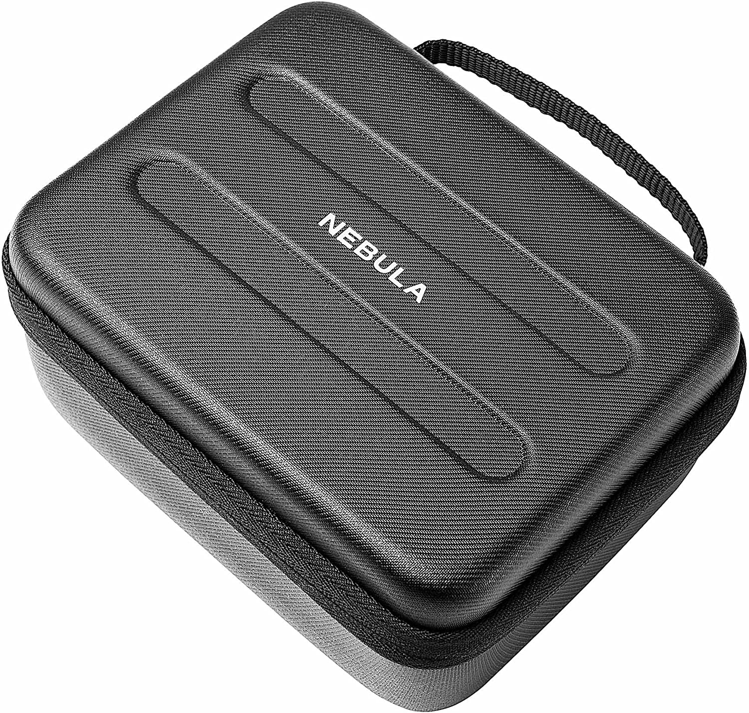 Anker Nebula Capsule Official Travel Case for Nebula Capsule Pocket Projector,Polyurethane Leather, Soft Ethylene-Vinyl Acetate Material, and Splash-Resistance Premium Protection Projector Carry Case: Electronics