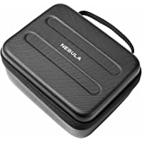 Nebula Capsule Official Travel Case for Nebula Capsule Pocket Projector, Polyurethane Leather, Soft Ethylene-Vinyl Acetate Material, and Splash-Resistance Premium Protection Projector Carry Case