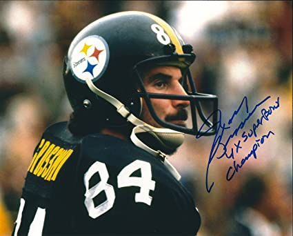 c5d051cb434 Image Unavailable. Image not available for. Color: Autographed Randy  Grossman Pittsburgh Steelers ...