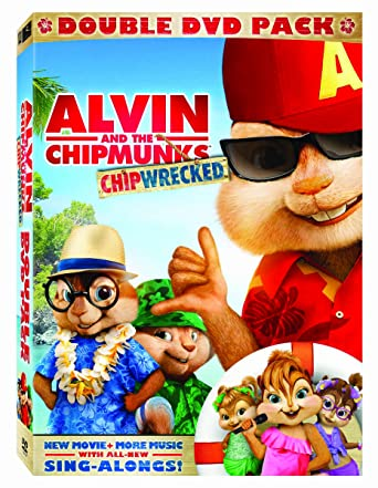 amazon com alvin and the chipmunks chipwrecked two disc edition