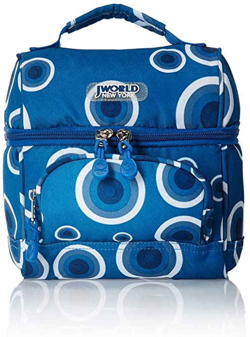 J World New York Corey Lunch Bag, Target Blue, One Size