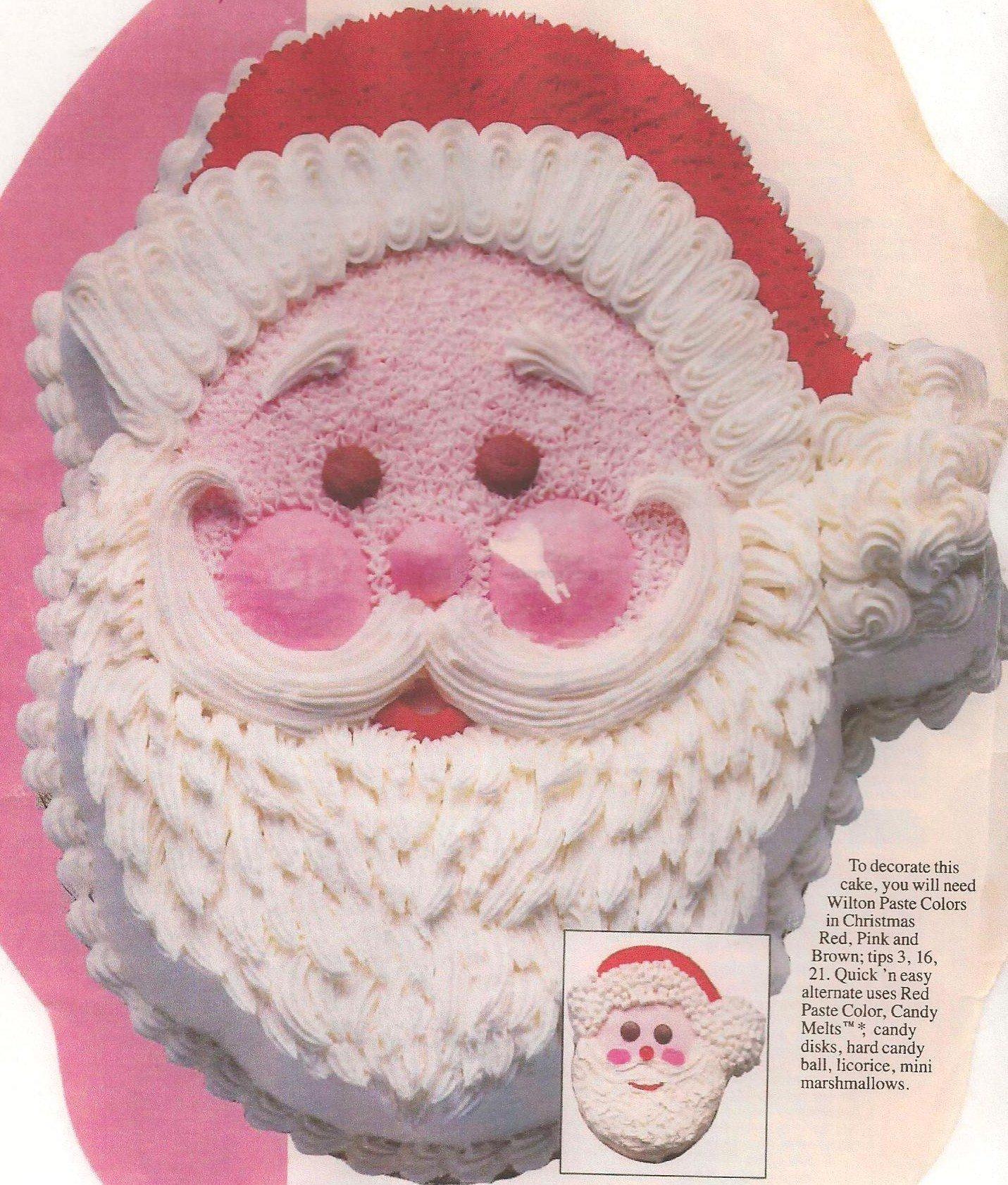 Wilton Jolly Santa Cake Pan
