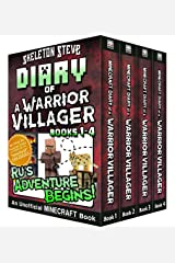 Diary of a Minecraft Warrior Villager - Box Set 1 - Ru's Adventure Begins (Books 1-4): Unofficial Minecraft Books for Kids, Teens, & Nerds - Adventure Fan Fiction Diary Series Kindle Edition