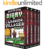 Diary of a Minecraft Warrior Villager - Box Set 1 - Ru's Adventure Begins (Books 1-4): Unofficial Minecraft Books for…