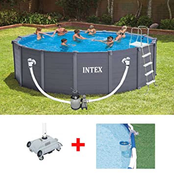 robot intex piscine hors sol trendy nettoyer sa piscine horssol guide pas pas with robot intex. Black Bedroom Furniture Sets. Home Design Ideas