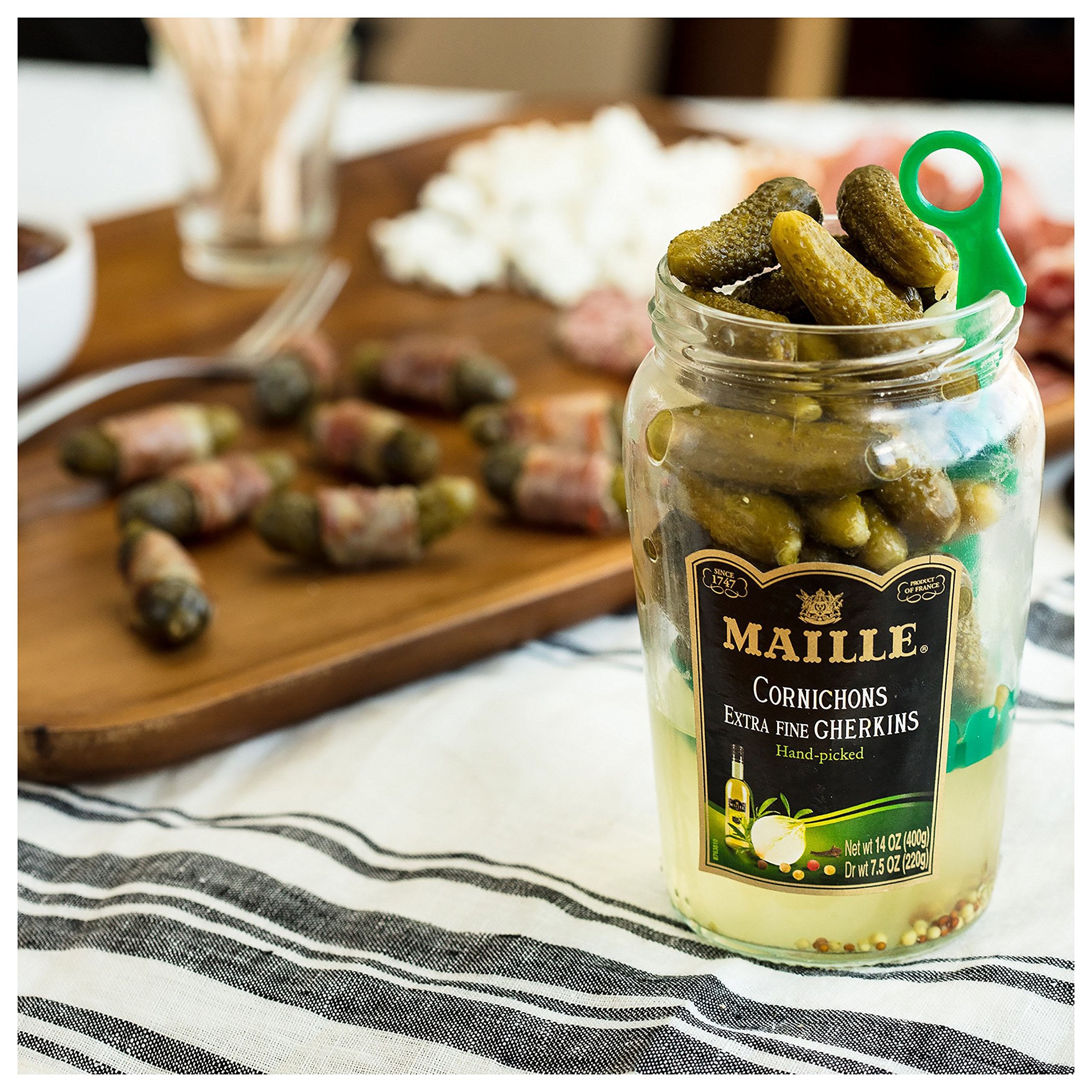 Maille Pickles, Cornichons Original, 13.5 oz, Pack of 12 by Maille (Image #4)