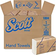 Scott Essential Multifold Paper Towels (01804) with Fast-Drying Absorbency Pockets, White, 16 Packs / Case, 250 Multifold Tow