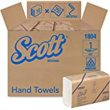 Scott Essential Multifold Paper Towels (01804) with Fast-Drying Absorbency Pockets, White, 16 Packs / Case, 250…