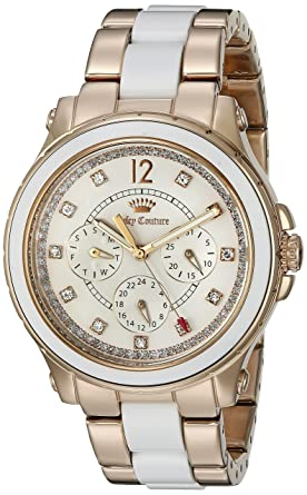Amazoncom Juicy Couture Womens 1901303 Hollywood Analog Display