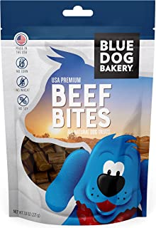 product image for Blue Dog Bakery, Natural Dog Treats, Beef Bites, Grain Free, USA Beef, 7.8oz (1 Count)