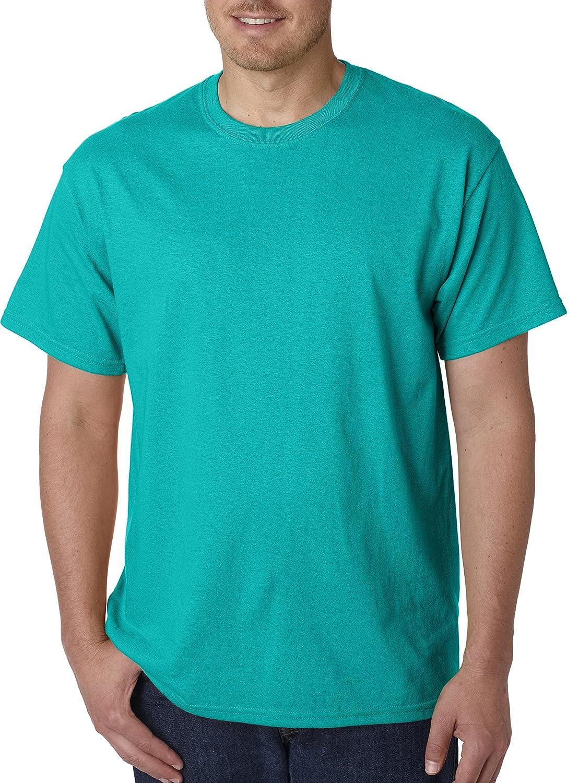 (ギルダン) Gildan メンズ ヘビーコットン 半袖Tシャツ トップス カットソー 定番 男性用 B00DGFA23Q 3L|トロピカルブルー トロピカルブルー 3L