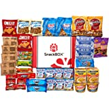 Care Package for College Students, Camp, Birthday and Back to School (40 Count) From Snack Box