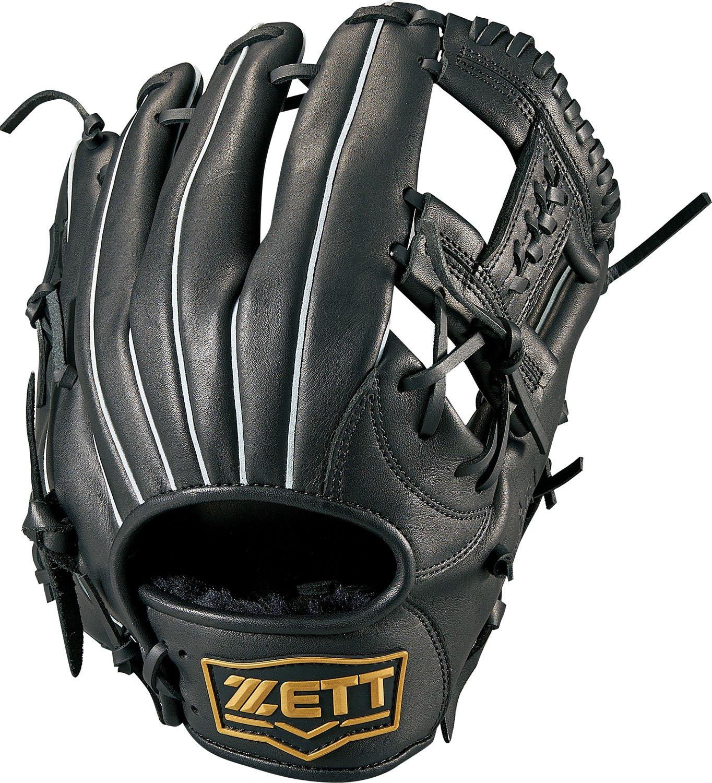 ZETT(ゼット) ソフトボール グラブ (グローブ) デュアルキャッチ オールラウンド 右投用 ブラック(1900) LH BSGB53810 B077BNS2T7