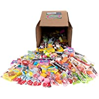 Your Favorite Party Mix Of Brand Name Candy! - A 6X6 Box (3.5 lb.- 56 oz.) of Airheads, Laffy Taffy, Tootsie Rolls, Lemon Heads, Jaw Busters & More By Snackadilly