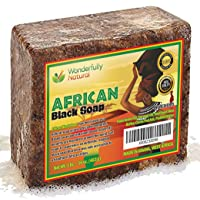 #1 Organic African Black Soap | Acne Treatment | 1lb bar | 60 day Satisfaction Guarantee