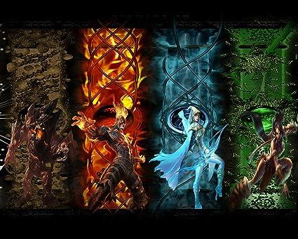 Amazon.com: League of Legends LOL 12 Poster Art Print Gamers Wall ...