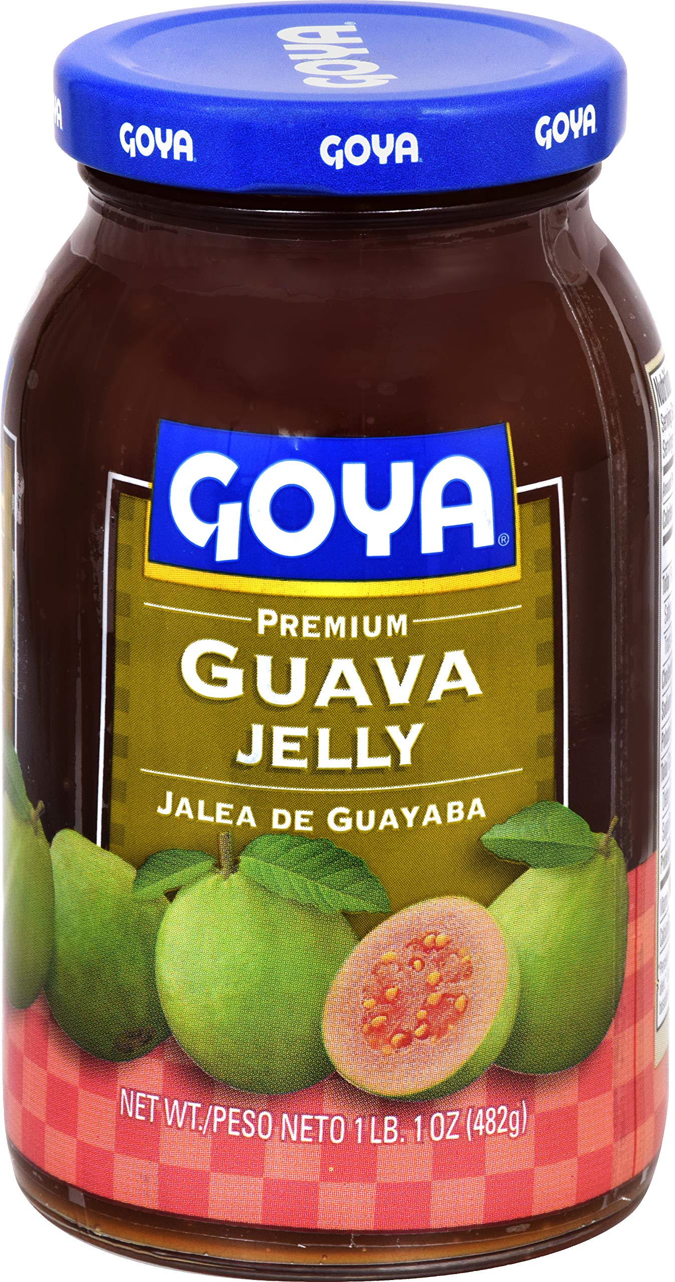 Goya Guava Jelly, Glass Jar, 17 oz