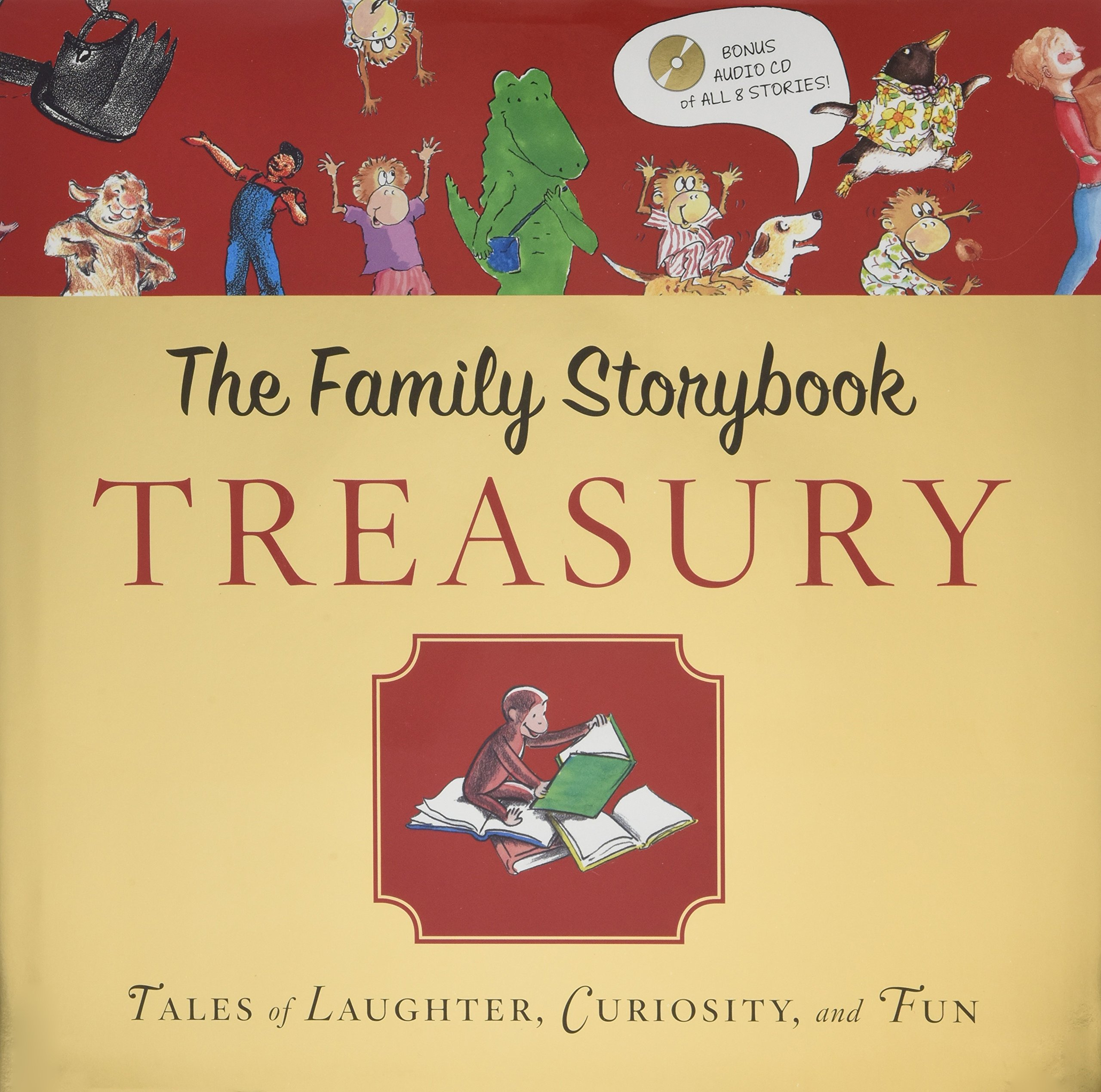 Family Storybook Treasury with CD: Tales of Laughter, Curiosity, and Fun  Hardcover – October 25, 2011