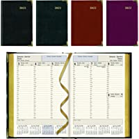"""Brownline 2022 Executive Weekly Planner, Appointment Book, 12 Months, January to December, Sewn Binding, 8.187"""" x 5.625…"""