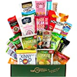 100 Calorie Healthy Snacks College Care Package - Vegan, Gluten Free Dairy Free Snacks, MOTHER'S DAY GIFT BOX, Bars…