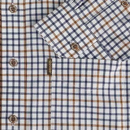 Musto Classic Keldy - Camisa de manga corta, color azul: Amazon.es: Ropa y accesorios