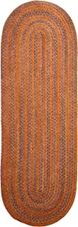product image for Colonial Mills Rustica Braided Rug, 2 by 12', Audubon Russet