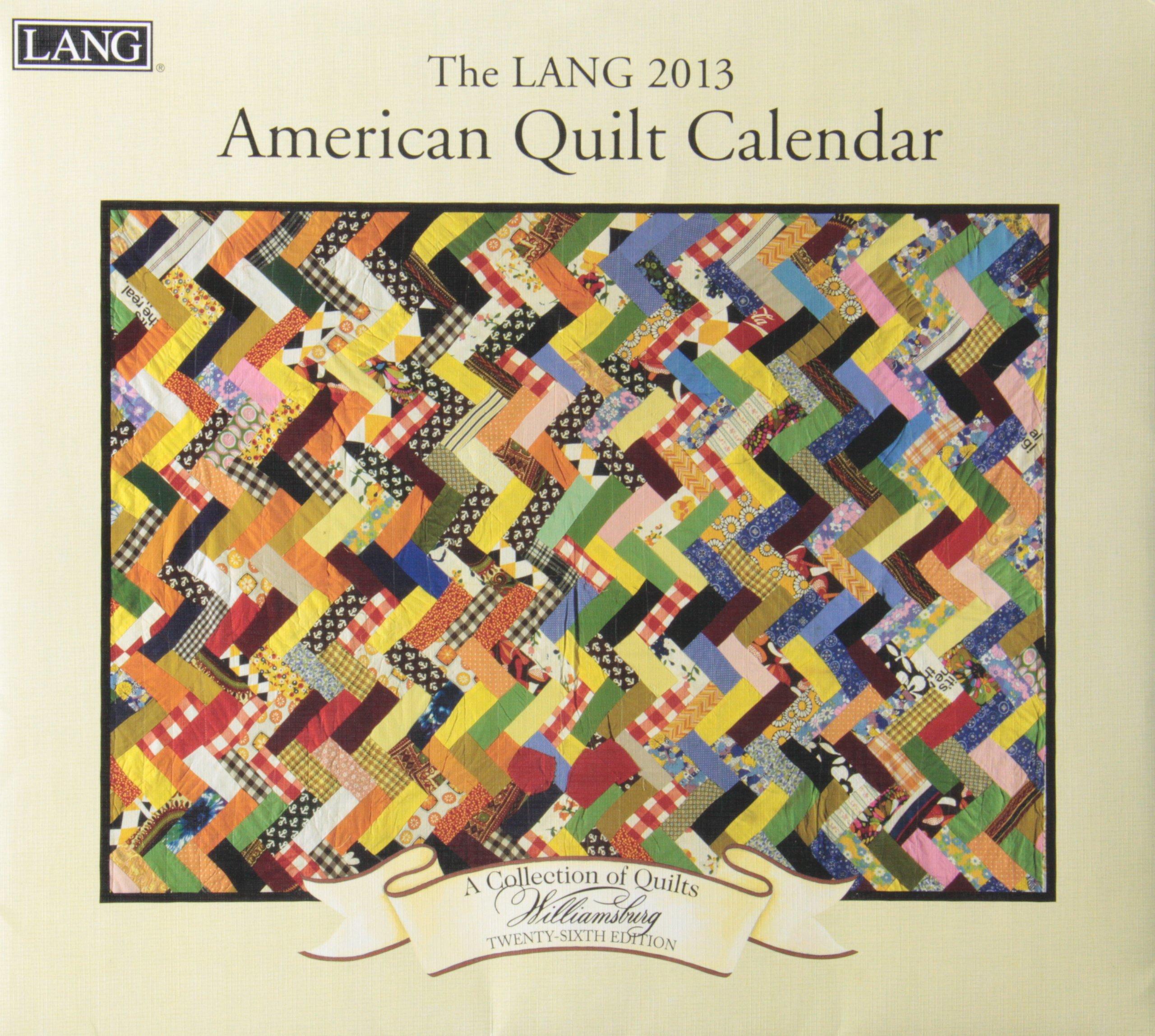 American Quilt Calendar 2013 (Willimasburg)