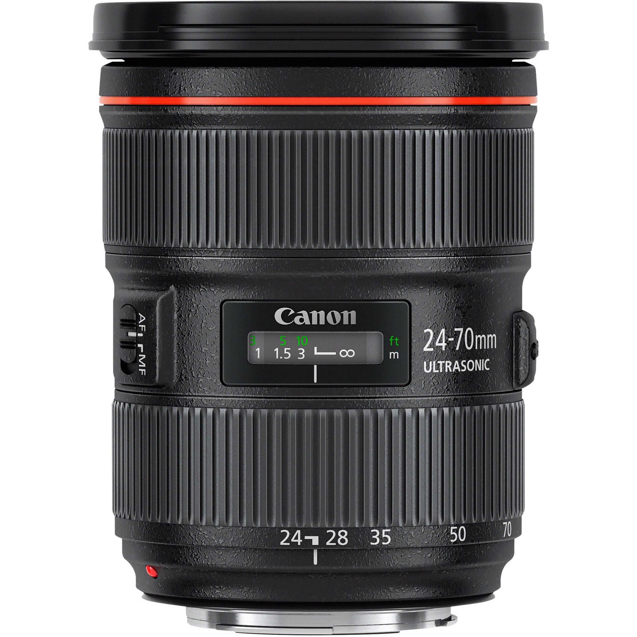Canon EF 24-70mm f/2.8L II USM Lens with Professional Bundle Package Deal Kit for EOS 7D Mark II, 6D Mark II, 5D Mark IV, 5D S R, 5D S, 5D Mark III, 80D, 70D, 77D, T5, T6, T6s, T7i, SL2 by Canon (Image #2)