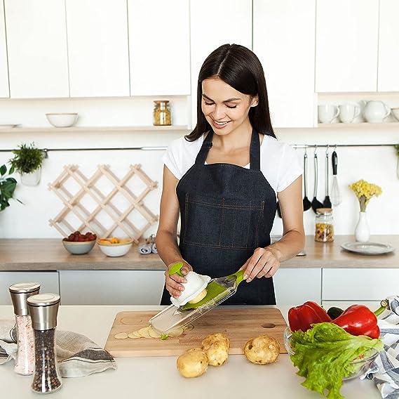 amazon com mandoline slicer vegetable potato cutter slices