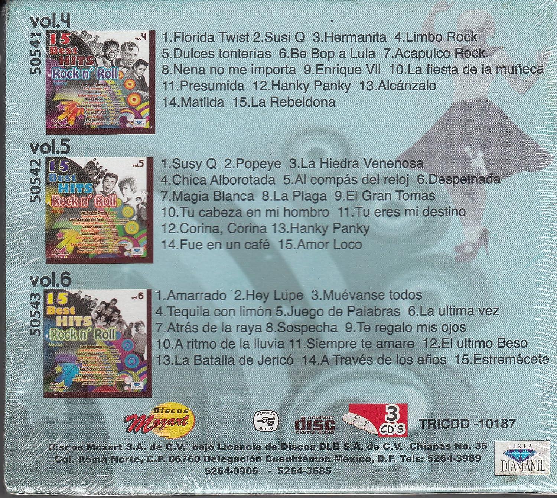 Los Apson, Lo Hooligans, Los Sleepers, Enrique Guzman, Los Teentops, Mayte GAos, Cesar Costa, Los Hermanos Carrion, Los Rebeldes Del Rock, Los Hiters, ...