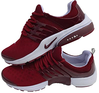 the best attitude 73a6c 28ea4 NIKE Air Presto Basket pour homme blanc rouge Taille 41