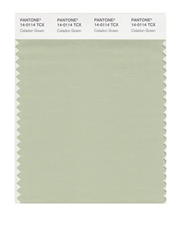 pantone smart 14 0114x color swatch card celadon green - Celadon Paint Color