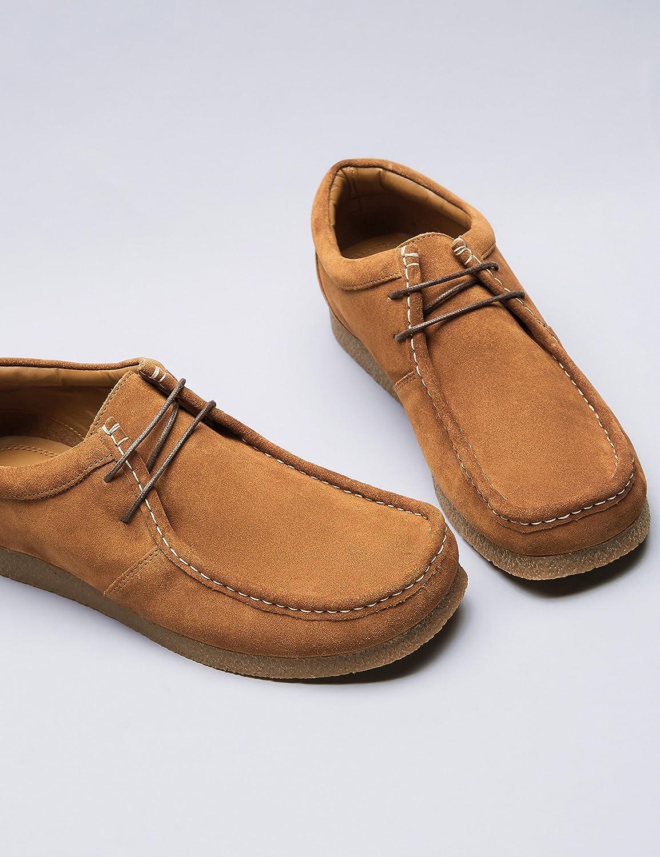 Find Zapato de Ante Estilo Wallabee para Hombre, Beige (Tan), 45 EU