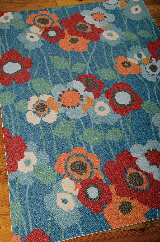Nourison Wav01 Sun Shade Blbel Rectangle Area Rug 10 Feet By 13 Feet 10 X 13 Furniture Decor
