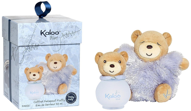 Kaloo Classic Blue Set de Colonie/Peluche 50 ml 3760048931724