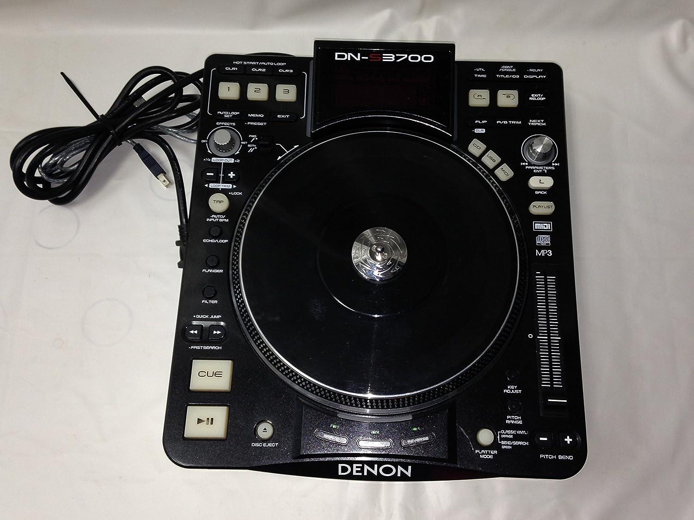 DENON DN-S3700 DJ CDプレーヤー ブラック B00240F03G, サンマリーノ:1558afe9 --- quintrix.jp