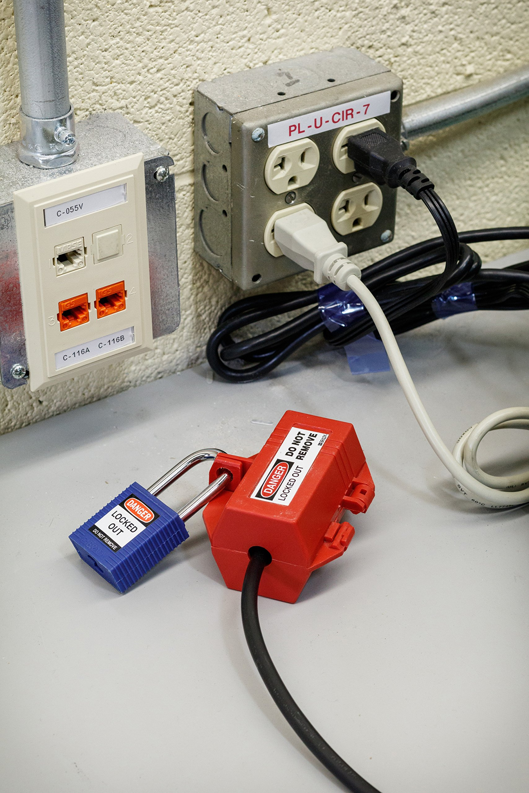 Brady 95548 Portable Lockout Kit, Fill, Electrical, Pouch by Brady (Image #4)
