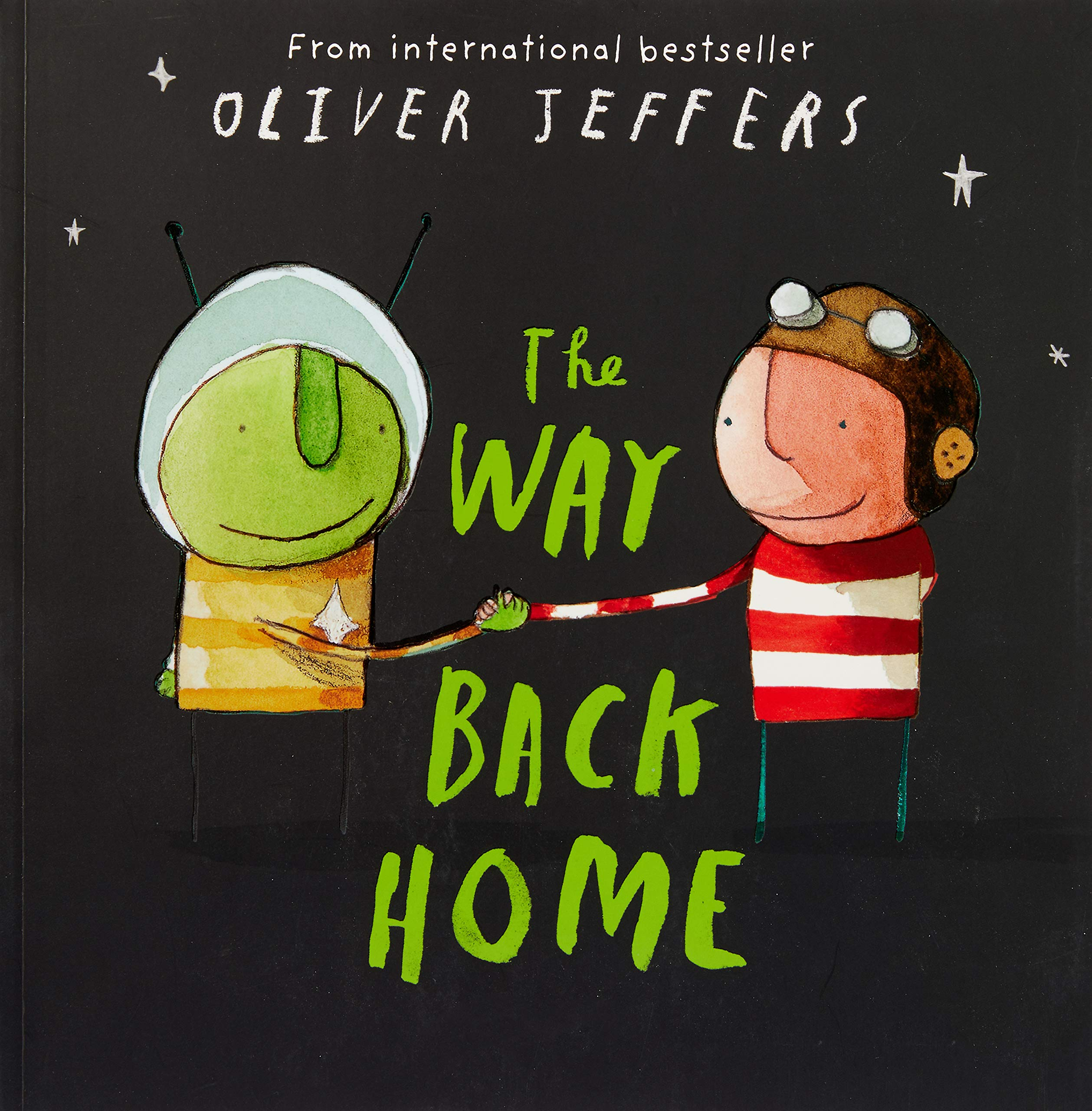 The Way Back Home: Amazon.co.uk: Jeffers, Oliver, Jeffers, Oliver: Books