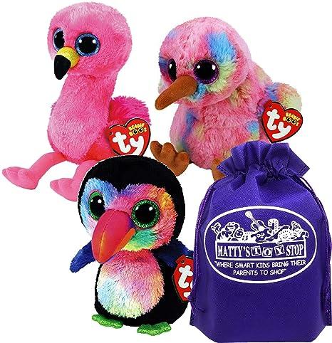 Amazon.com  Ty Beanie Boos Tropical Birds Kiwi (Multi-Colored ... d4e20b527cc