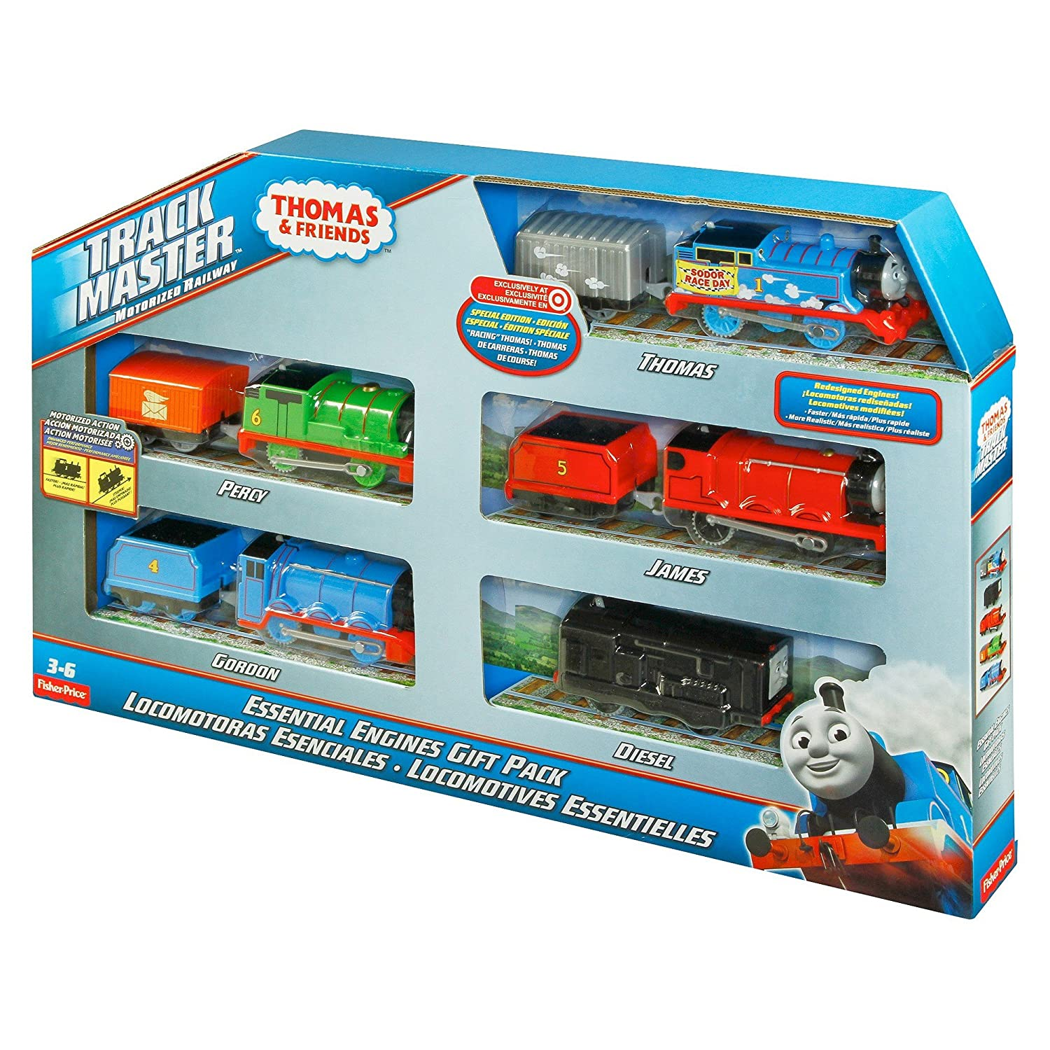 Buy Thomas and Friends Track Master Motorized Railway Essential ...