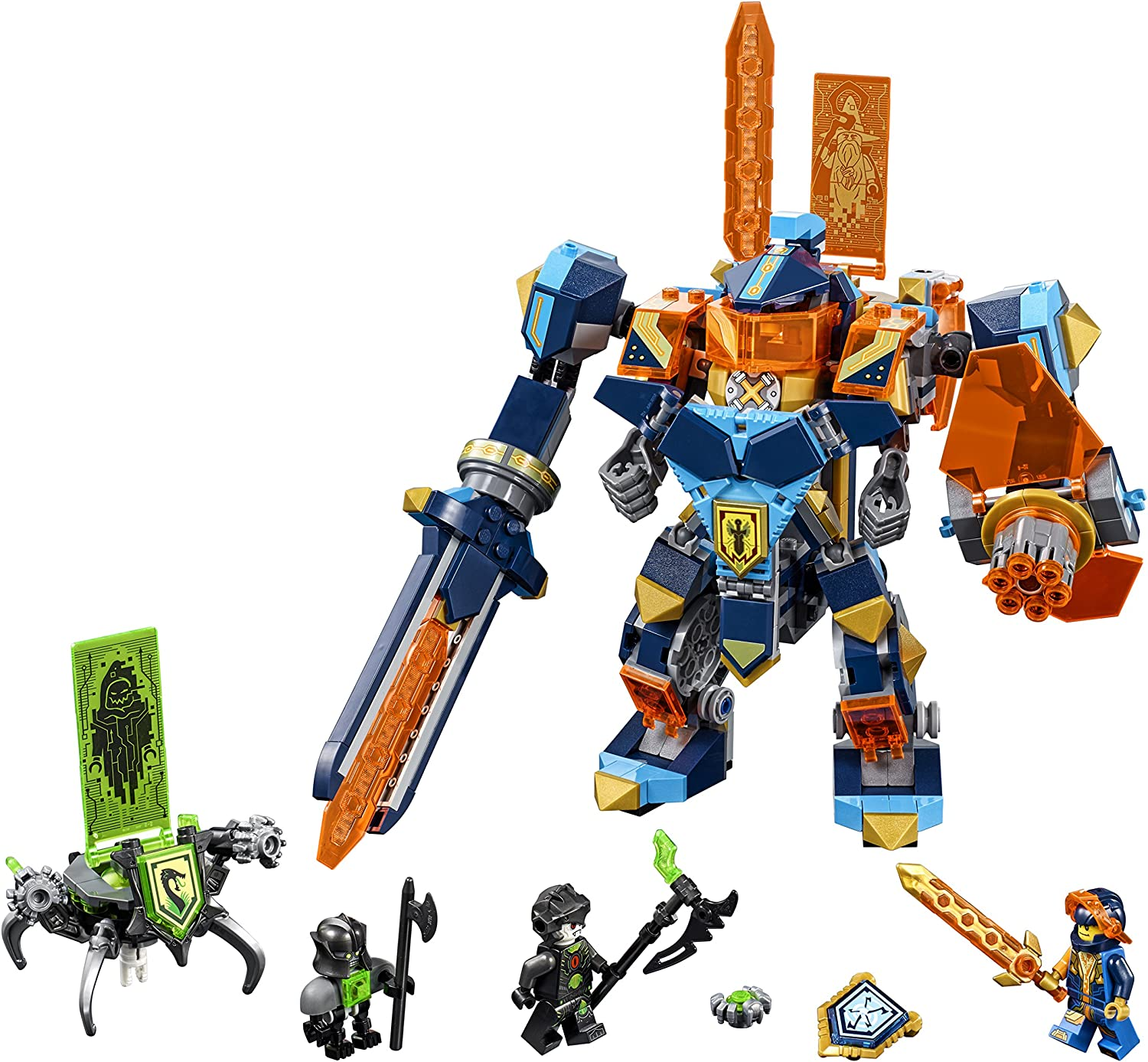 LEGO NEXO KNIGHTS Tech Wizard Showdown 72004 Building Kit (506 Piece)