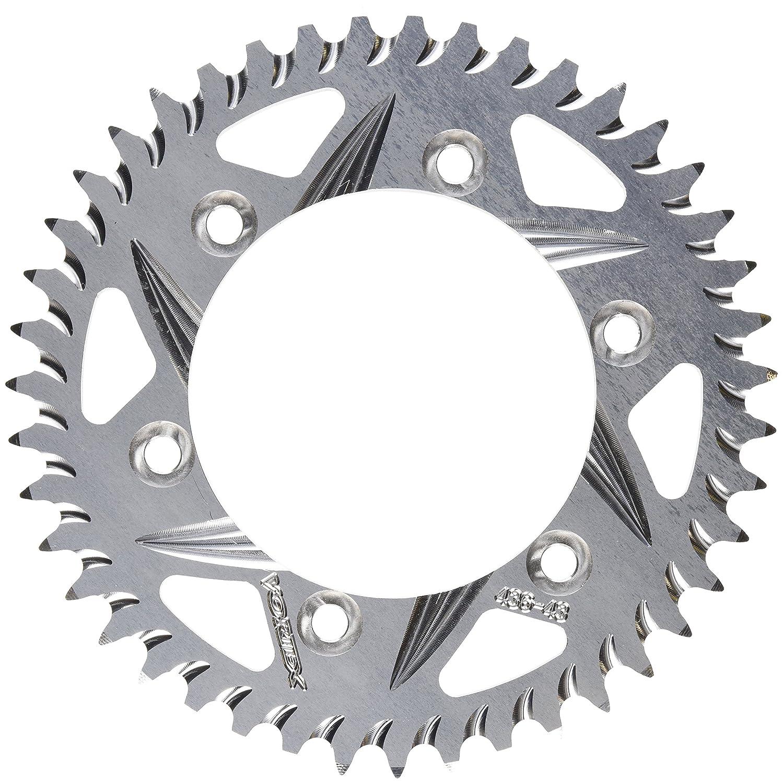 Vortex 436-43 Silver 43-Tooth 530-Pitch Rear Sprocket