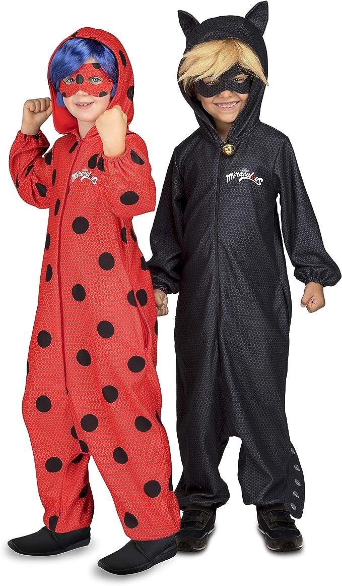 My Other Me Me Me- Pijama Lady Bug Disfraz Color negro 6-7 Años ...