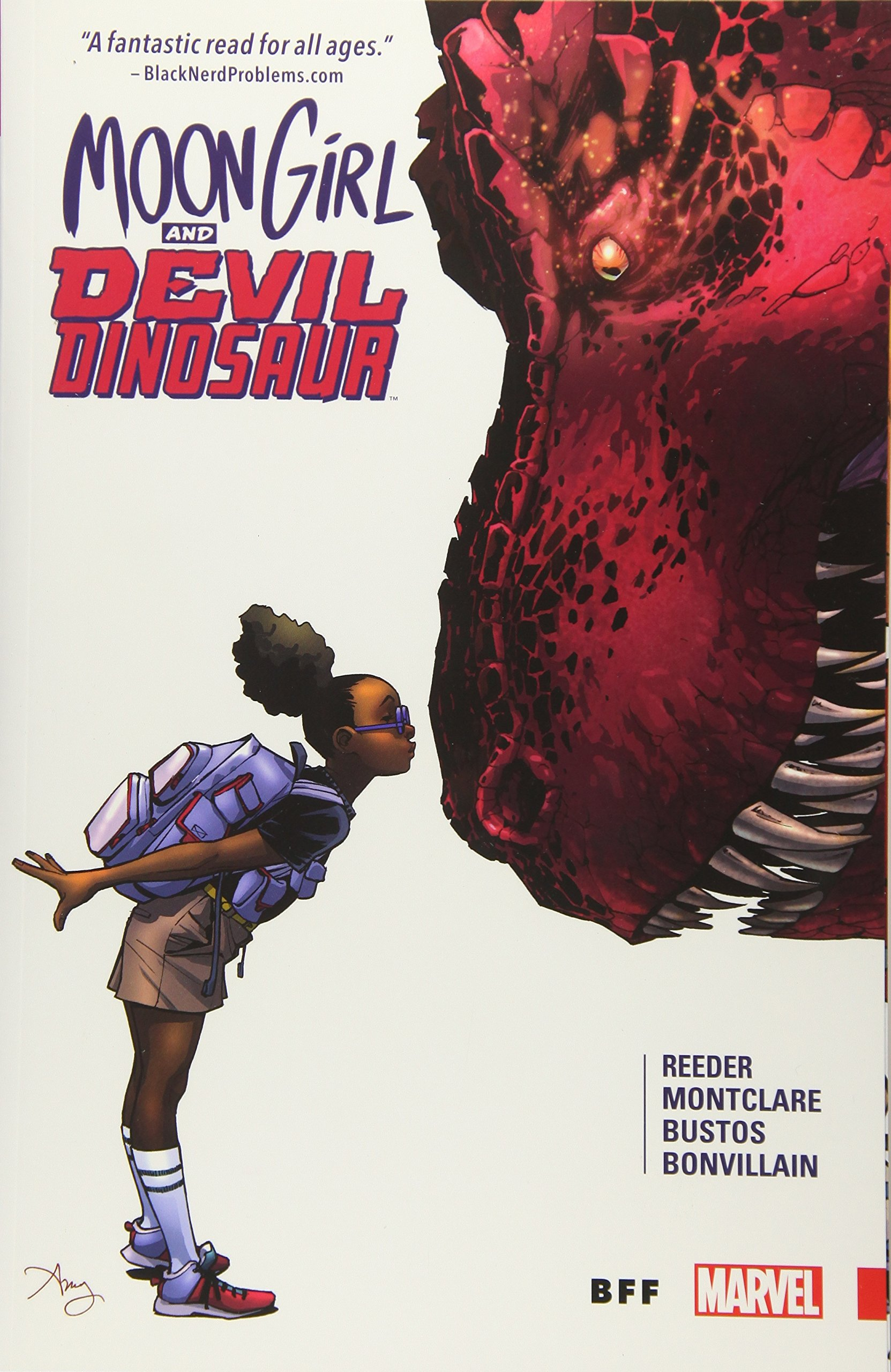 Moon Girl and Devil Dinosaur Vol. 1 BFF: Amazon.co.uk: Amy Reeder ...