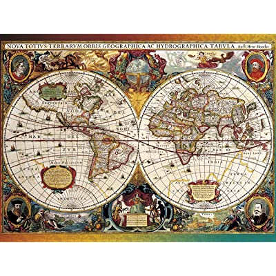 Buffalo Games - Going Places Collection - World Map, Circa 1630-750 Piece Jigsaw Puzzle: Toys & Games