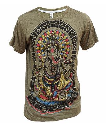 89aa246d6b26e4 Yoga Shirts - Omtimistic Men s Hindu Ganesh  Elephant God   Om Symbol  T-