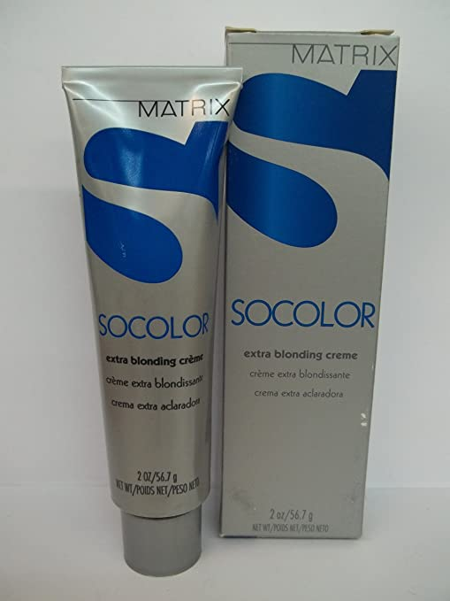Amazon.com : Matrix Socolor Extra Blonding Cream 2 Oz : Chemical Hair Dyes : Beauty