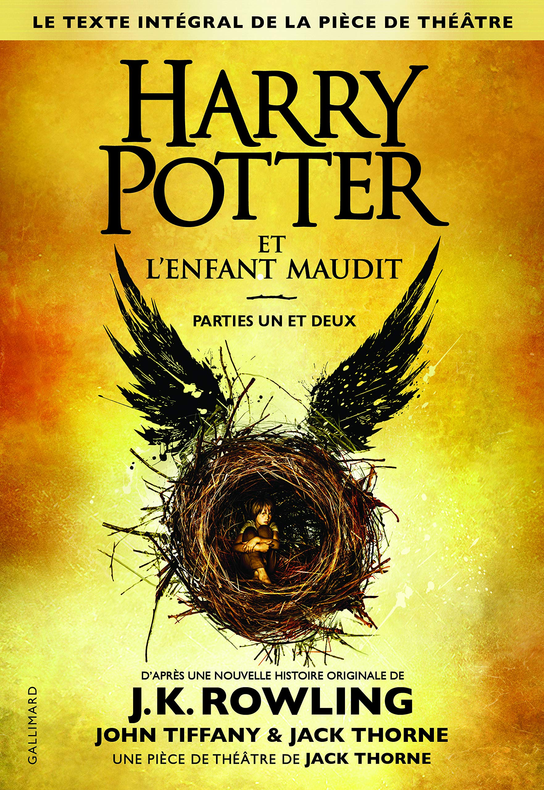 Harry Potter Et L Enfant Maudit Parties Un Et Deux Le Texte